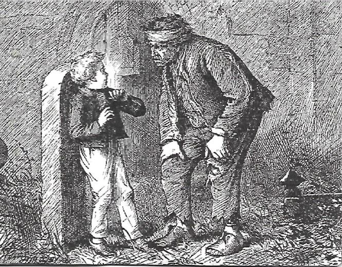 the relationship of pip and magwitch Magwitch, at the same time, began a relationship with a mentally unstable woman named molly, who later stood trial for murder magwitch tricks the seven-year-old boy into believing that he has an accomplice who is a terrible young man who would tear out and eat pip's heart and liver if pip did not.